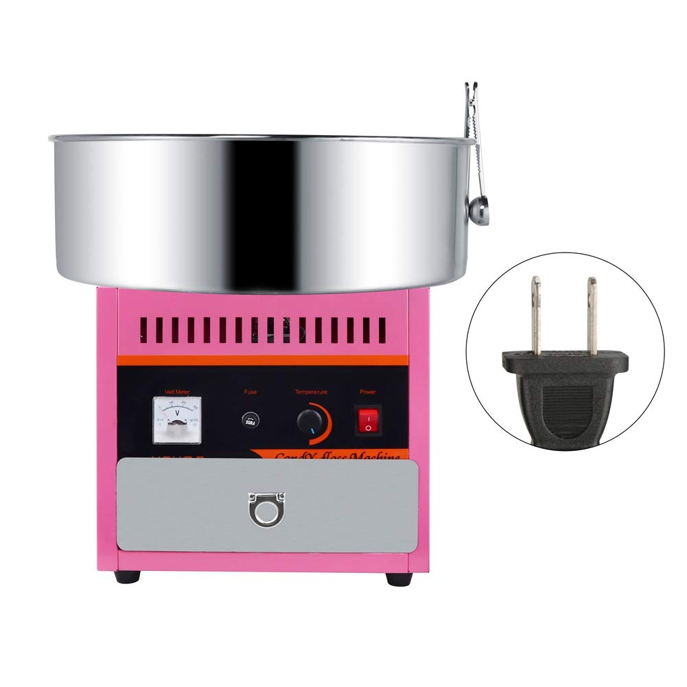 Floss Maker, Mini DIY Electric Cotton Sugar Candy Machine Automatic for Home(US 110V) by Sugoyi