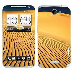 B 0077-0042-0001 Diabloskinz Skin para HTC One X-de dunas de arena