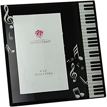 fashioncraft music design glass photo frame - Music Picture Frame