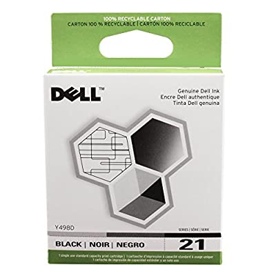 Genuine Dell Series 21 Printer Ink Cartridges
