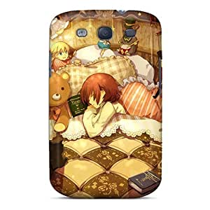Fashionable Style Case Cover Skin For Galaxy S3- Sleeping With My Buddies