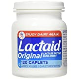 Lactaid Original Caplets, 120 caplets by Johnson & Johnson (Pack of 3)