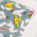 My Little Planes - Vinyl Self-Adhesive Wallpaper Prepasted Wall stickers Wall Decor (Roll)