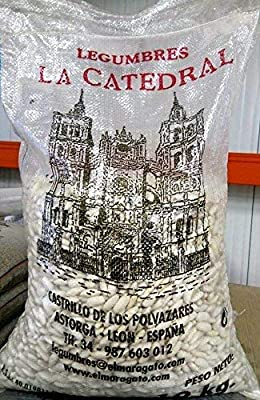 Alubias de fabada de León - Saco 10 kg: Amazon.es: Alimentación y ...