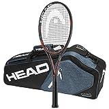 head prestige bag - Head 2016-2018 Graphene XT Prestige MP - Strung with 3 Racquet Tennis Bag (4-1/2)