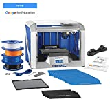Dremel Digilab 3D40 3D Printer, Idea Builder and Education Accessories (Lesson Plans, Professional Development Course, build plate, build tape, filament)