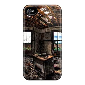 Waterdrop Snap-on Tv In Room Case For Iphone 4/4s