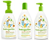 Babyganics Night Time Orange Blossom Set - Bubble Bath, Shampoo & Body Wash and Lotion