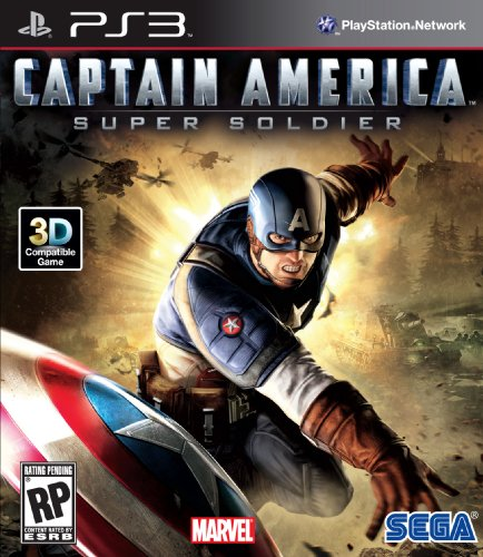 Captain America: Super Soldier - Playstation 3 (Action Games Ps3)