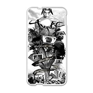 Happy Tupac TVC Styleframe Hard Case Cover Protector For HTC M7