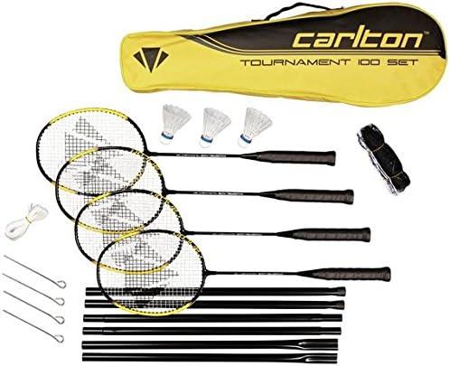 Carlton Powerblade Tournament 4 Person Badminton Set.