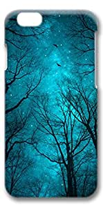 iPhone 6 Case, Personalized Protective Hard 3D Case Cover for New iPhone 6(4.7 inches) - Blue Night2