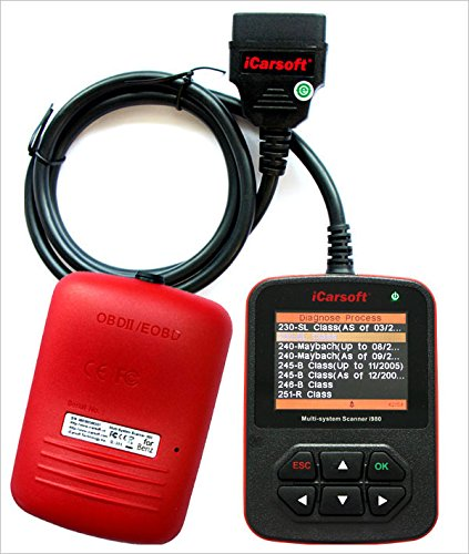iCarsoft Genuine Mercedes Benz I980 Professional Diagnostic Scanner Tool by iCarsoft (Image #1)