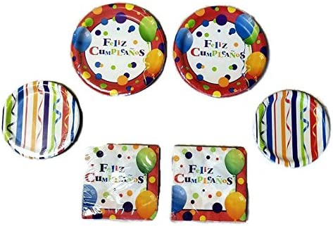 Birthday Party Supply Set Pack Kit for 16 ART PARTY Painting