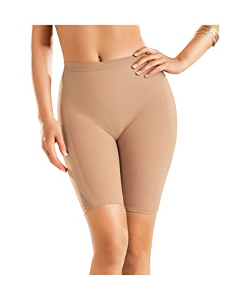 2b79adea290 Leonisa Women s Petite Plus Well-Rounded Invisible Butt Lifter Shaper Short  at Amazon Women s Clothing store