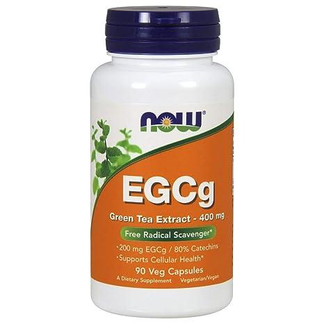 Now Foods, EGCg, Extracto de té Verde, x90Vcaps