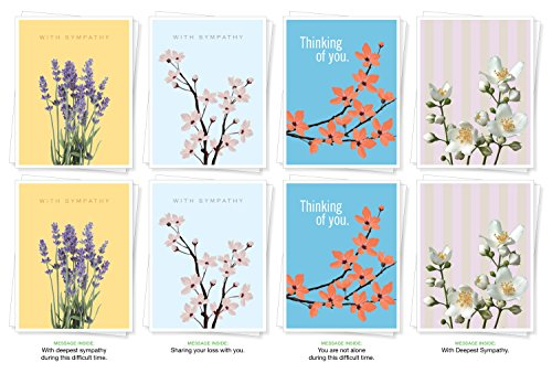 Assorted Sympathy Cards Greeting designs product image