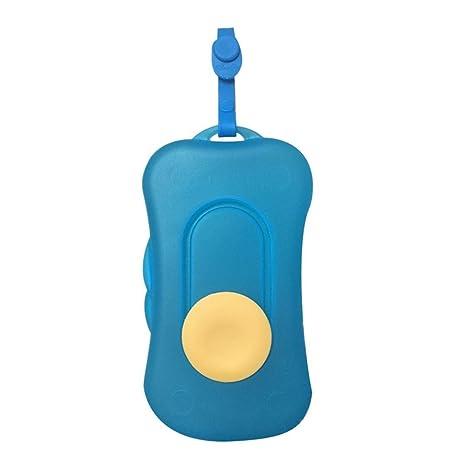 Portátil para toallitas húmedas de viaje para cosméticos dispensador de toallitas caja de toallitas húmedas para