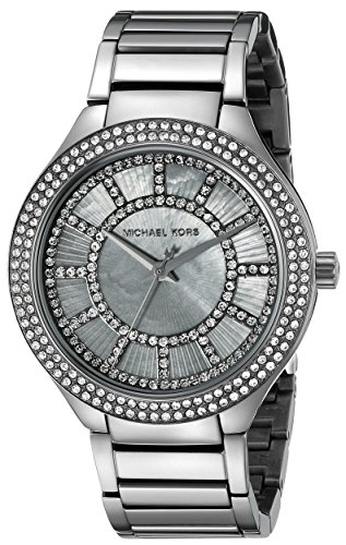 (Michael Kors Women's Kerry Gunmetal-Tone Watch)