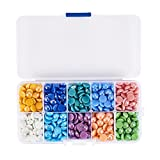 Best B&Y Jewelry Boxes - Pandahall 1 Box (700pcs) 10 Color Half Round/Dome Review