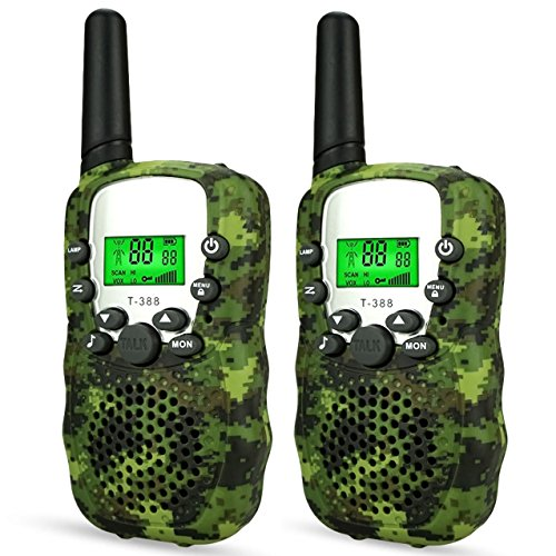 Image of the DIMY Toys for 3-12 Year Old Boys, Outdoor Toys Stocking Stuffer Walkie Talkies for Kids Xmas Toys for 3-12 Year Old Boys Girls Gifts Age 3-12 Year Old Boy Toys 2018 Christmas Gifts Green DMDJJ01