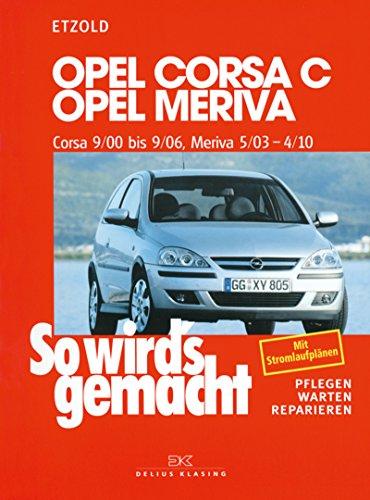 Opel corsa c 900 bis 906 opel meriva 503 bis 410 so wirds opel corsa c 900 bis 906 opel meriva 503 fandeluxe Gallery