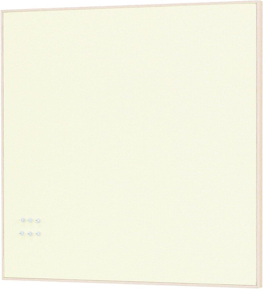 ベルク ファブリックマグネットボード 600×600 アイボリー MR4227 B072LP1N69アイボリー 600×600