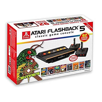 Atari Flashback 5 Classic Game Console 92 Built-in Games