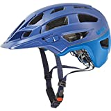 Uvex 2017 Finale Enduro Bicycle Helmet – 4181060 (royal blue-cyan matte – 56-60 m)