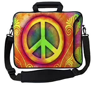 "Designer Sleeves 13"" Peace Executive Laptop Bag"