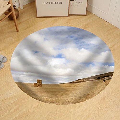 Gzhihine Custom round floor mat Landscape Spain by Gzhihine