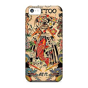 High-quality Durability Case For Iphone 5c(ed Hardy Japanese)