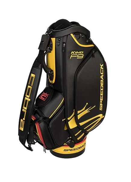 Amazon.com   Cobra Golf 2019 F9 Speedback Staff Bag (Black)   Sports ... 4697eef91e72