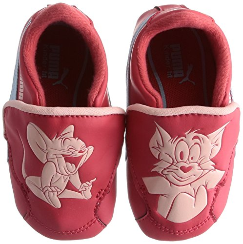 Puma CRIB PACK TOM ET JERRY 2 Zapatillas Sneakers Rojo para Bebe