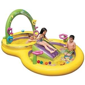Intex piscina para ni os winnie the pooh 57451 amazon for Amazon piscinas infantiles