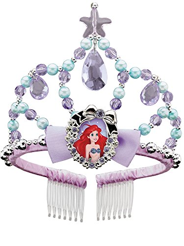 Ariel Classic Disney Princess The Little Mermaid Tiara, One Size Child ()