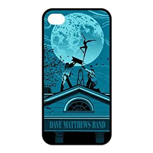 Rock band dave matthews ballet dancer on moon TPU case for Iphone 4/4S