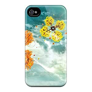 New Arrival Space Trees For Iphone 4/4s Cases Covers