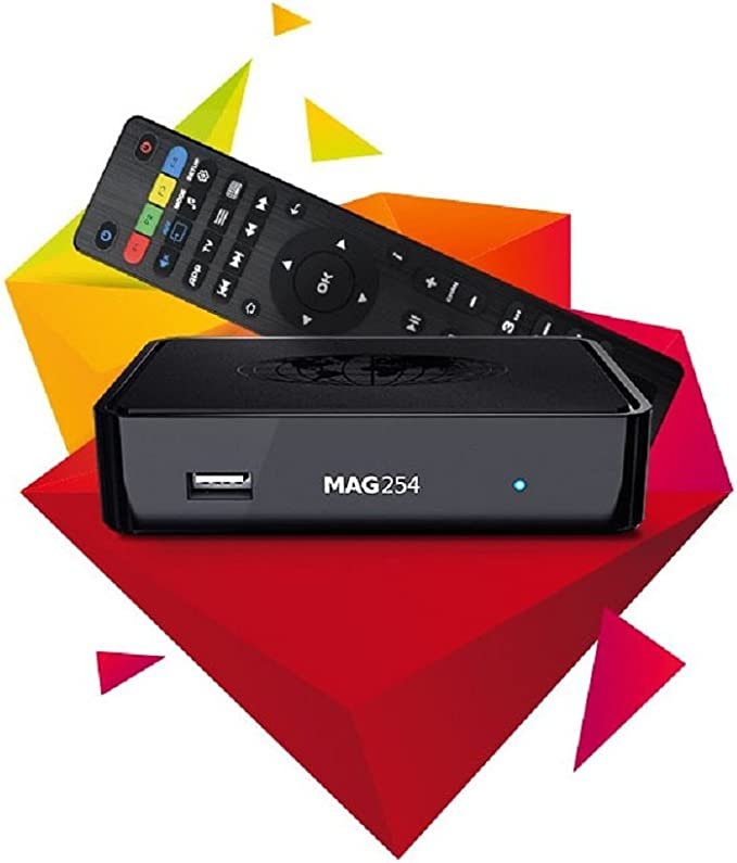 iptv Just New mag 254 HD Media Box, [Importado de UK]: Amazon.es ...