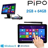 Pipo X8 Windows 8.1 Mini Intel Compute Stick 2GB 64GB Atom Z3736f Quad Core 7 Inch Android Tablet Pc With Windows 8.1 OS Bluetooth 4.0