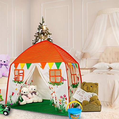 ALPIKA Kids Toys Play Tent Children Indoor & Outdoor for 3 4 5 6 7 Boys & Girls Birthday -