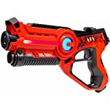 Laser tag Light Battle Active toy gun for kids - Color: orange - Lazer tag battle shooting game - LBA103