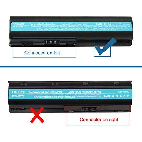 Laptop Battery for HP 484172-001 485041-001 498482-001 484170-001 HSTNN-LB72 HSTNN-UB72 HSTNN-CB72 484171-001 485041-001 HSTNN-Q34C, CQ40 CQ50 CQ60 CQ70 HDXX16 G60 G70 – High Performance Spare Power by Tree.NB (Image #3)
