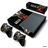 Xbox One Console Skin Decal Sticker One Punch Man + 2 Controller & Kinect Skins Set