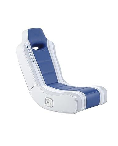 X Rocker Hydra Blue 2.0 Floor Rocker Gaming Chair ...