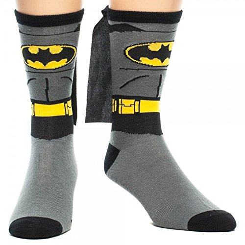 Batman-Cape-Crew-Socks