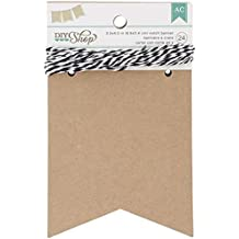 DIY Shop Notch Banner by American Crafts | 24-piece | Includes hanging string