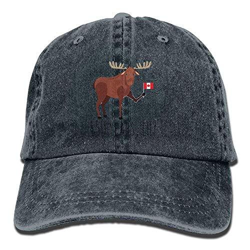 Yuting Mse béisbol Hat Gorras Baseball Mini Male Flag Canadian Denim Adjustable 150 Hat BwBrq6I