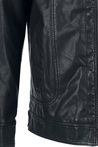 Nero Giacca Jacket Hooded Grey Premium By Black Emp yP1g0wq
