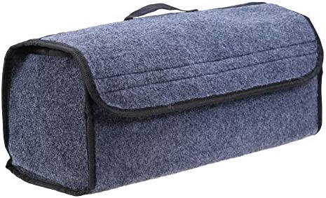 e8a060197121 Amazon.com: Saasiiyo Car Trunk Organizer Storage Bag Foldable Felt ...
